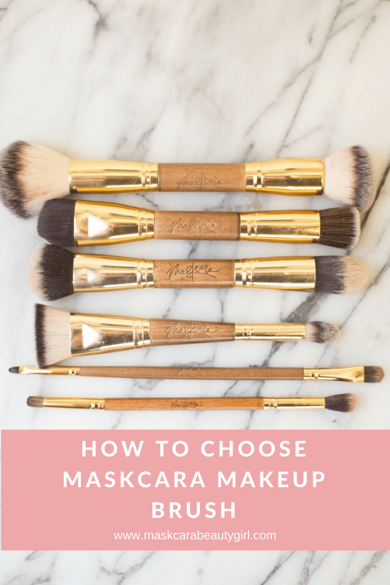 How to choose maskcara makeup brush. Maskcara perfector sponge step by step to choosing the right makeup brush for you. www.MaskcaraBeautyGirl.com