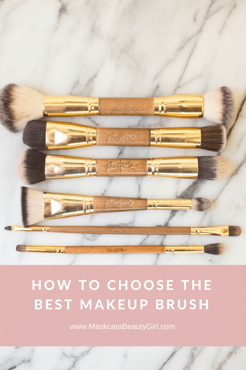 How to choose maskcara makeup brush. step by step to choosing the right makeup brush for you. www.MaskcaraBeautyGirl.com