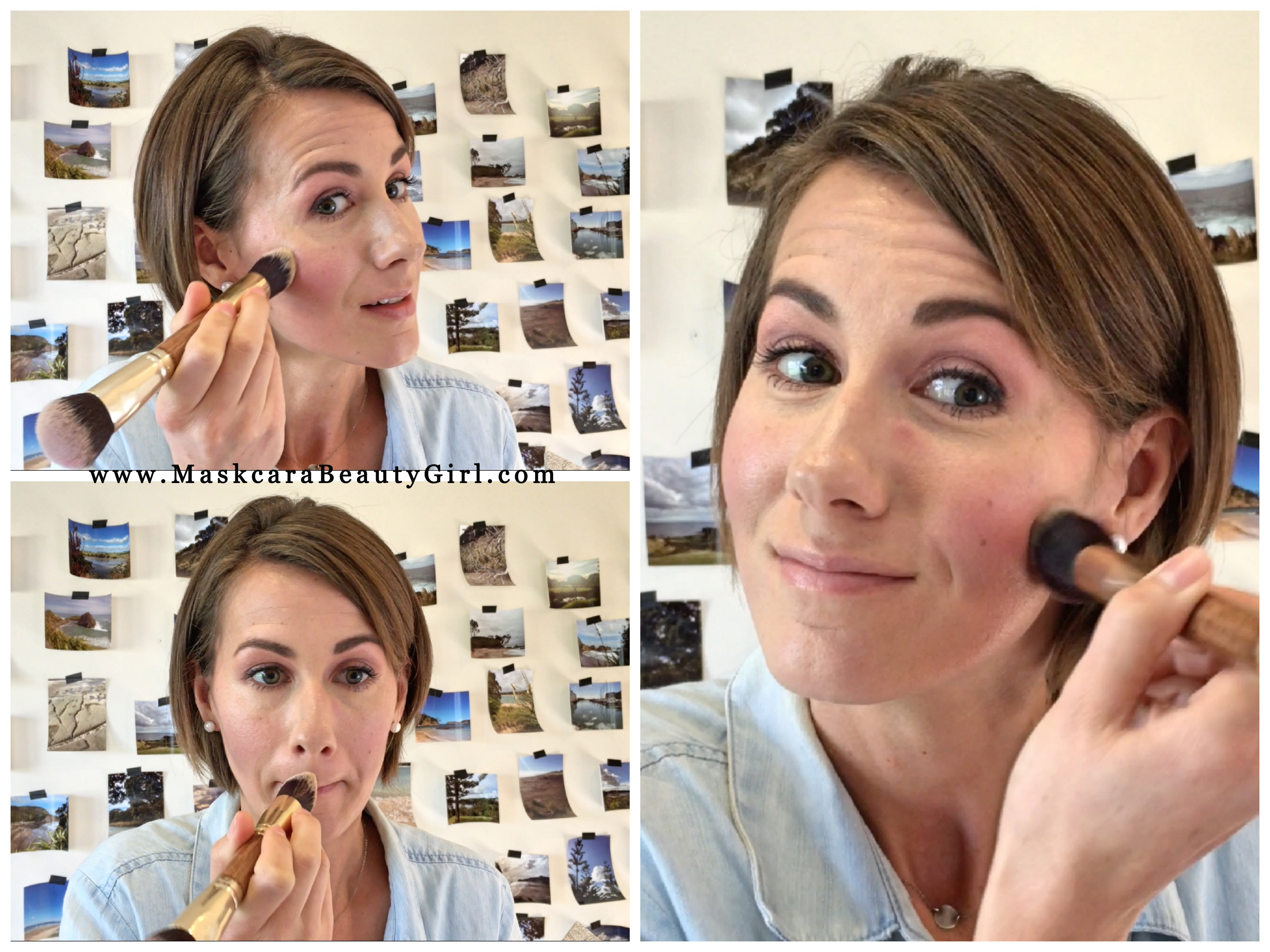 how to highlight and contour with maskcara makeup how to hac blush step color for www.MaskcaraBeautyGirl.com