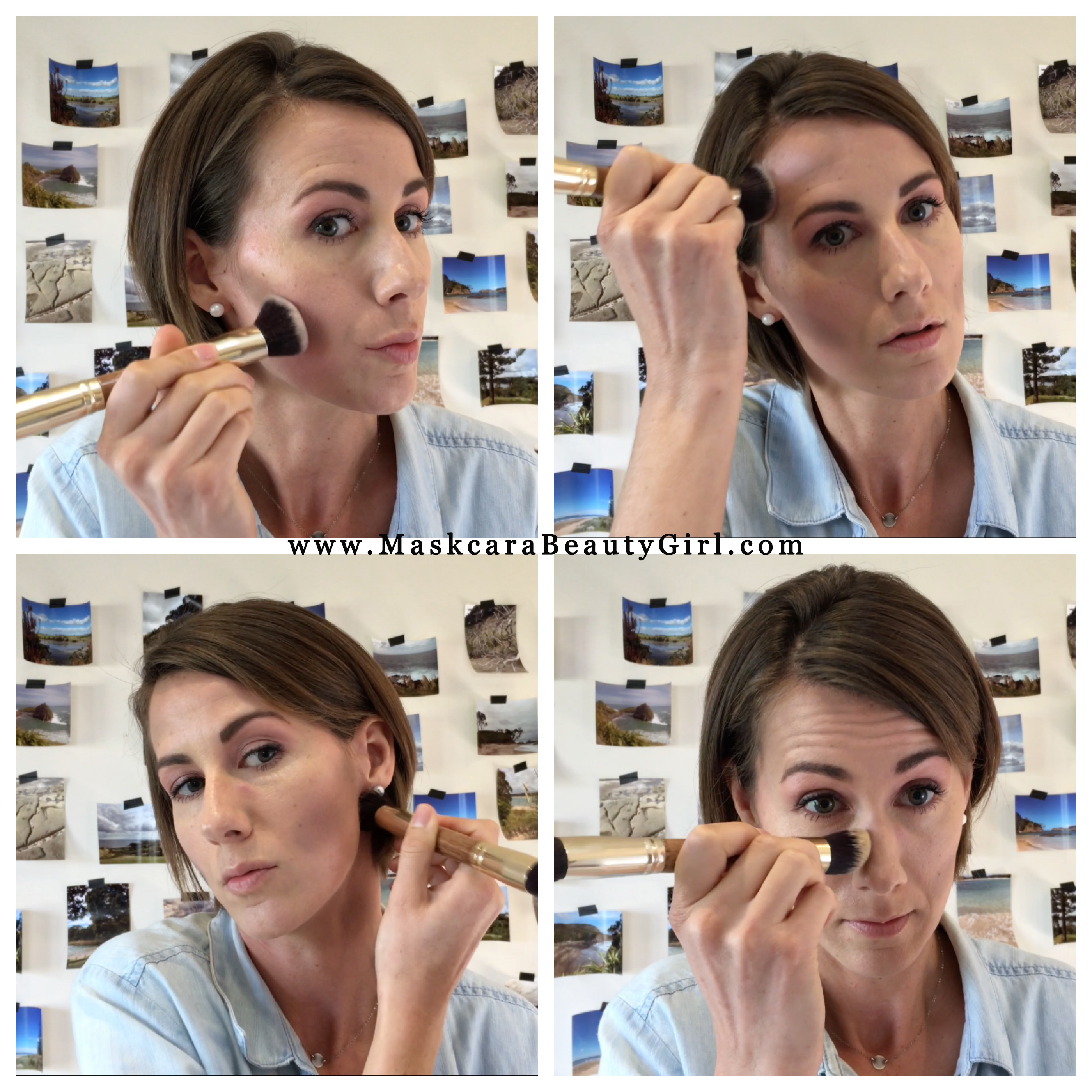 how to highlight and contour with maskcara makeup how to hac contour color for www.MaskcaraBeautyGirl.com