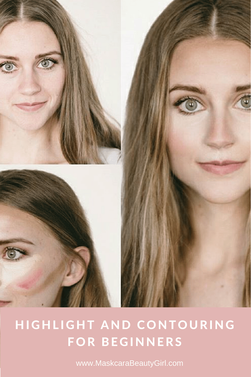 How to HAC Maskcara Makeup step by step on how to hac highlight and contouring for beginners how to highlight and contour www.MaskcaraBeautyGirl.com