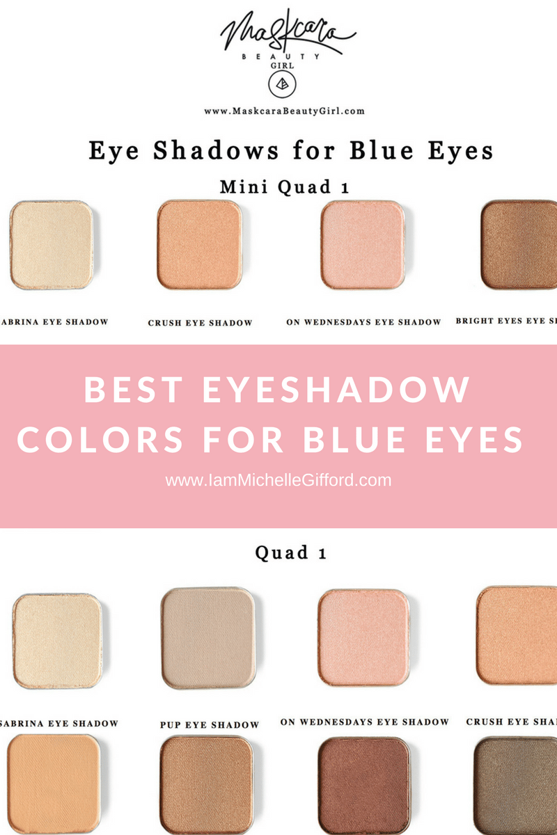Best Eyeshadow For Blue Eyes With Maskcara Makeup