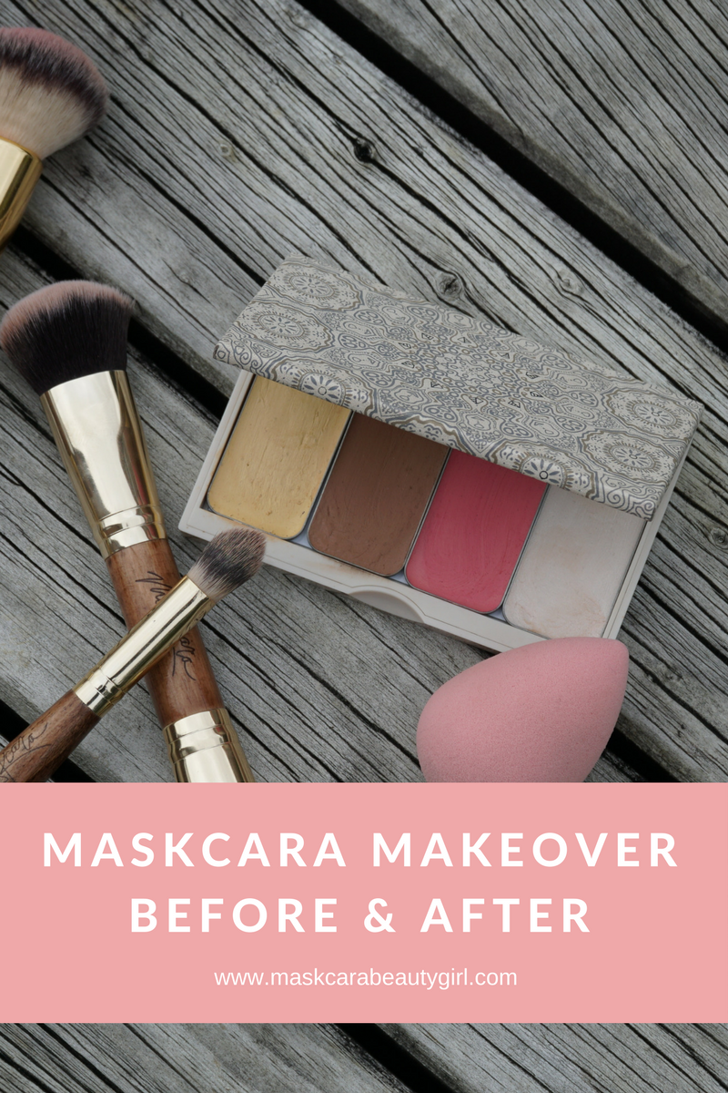 Why I threw away all my makeup and switched to Maskcara makeup, Before and after makeover using Maskcara Beauty products with Maskcara Beauty Girl, model is I Am Michelle Gifford, source www.maskcarabeautygirl.com, learn how to do a simple and easy makeover on your face.