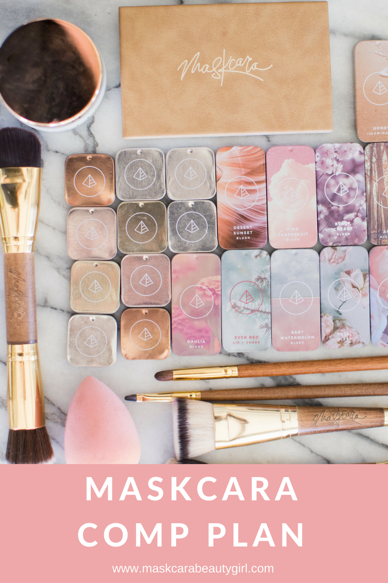 Maskcara Compensation Plan with Maskcara Beauty Girl at www.maskcarabeautygirl.com