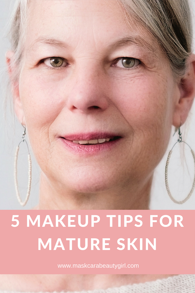 Makeup tips for Mature Skin with Maskcara Beauty Girl at www.maskcarabeautygirl.com