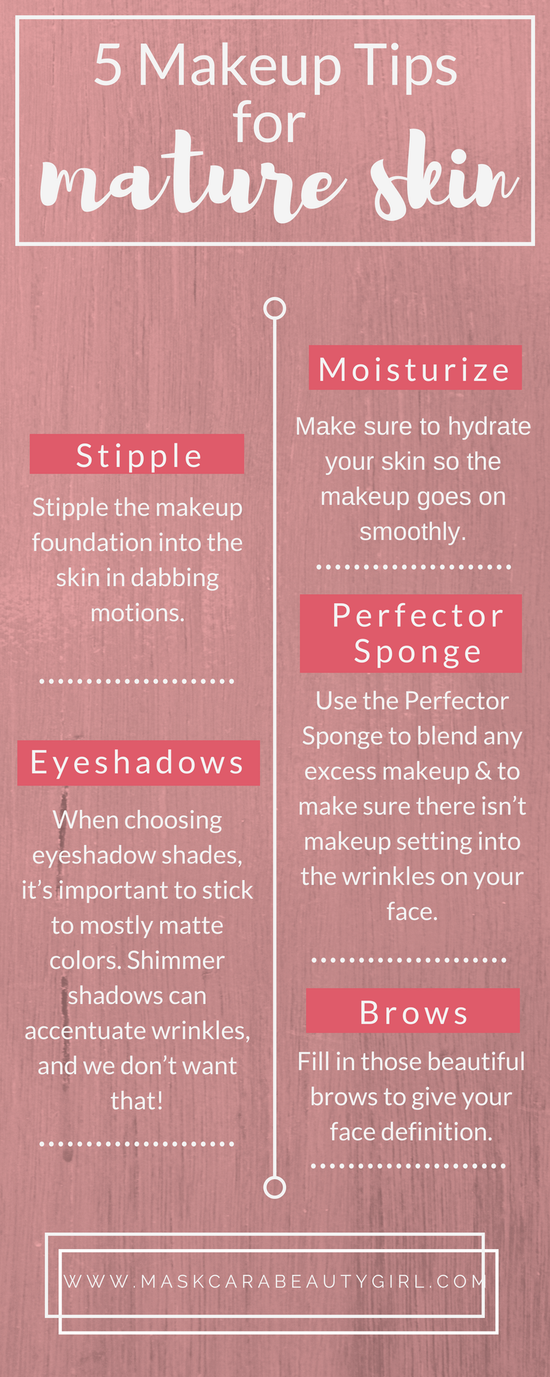 how to look mature with makeup