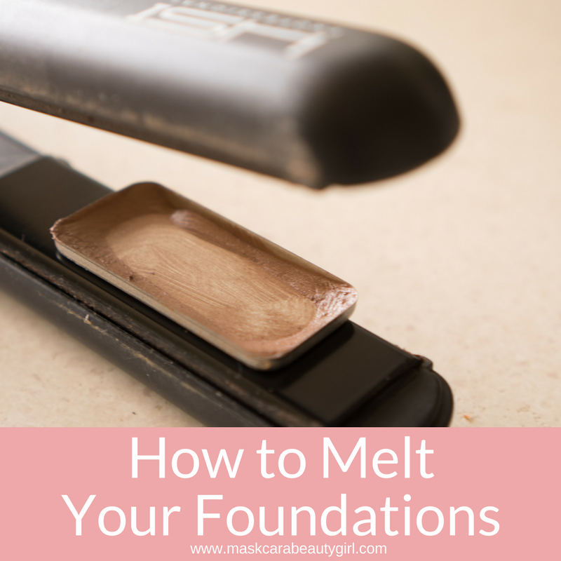 How to Melt Down Your Foundations with Maskcara Beauty Girl at www.maskcarabeautygirl.com