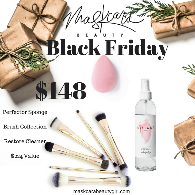 Maskcara Black Friday and Holiday Deals with Maskcara Beauty Girl at www.maskcarabeautygirl.com