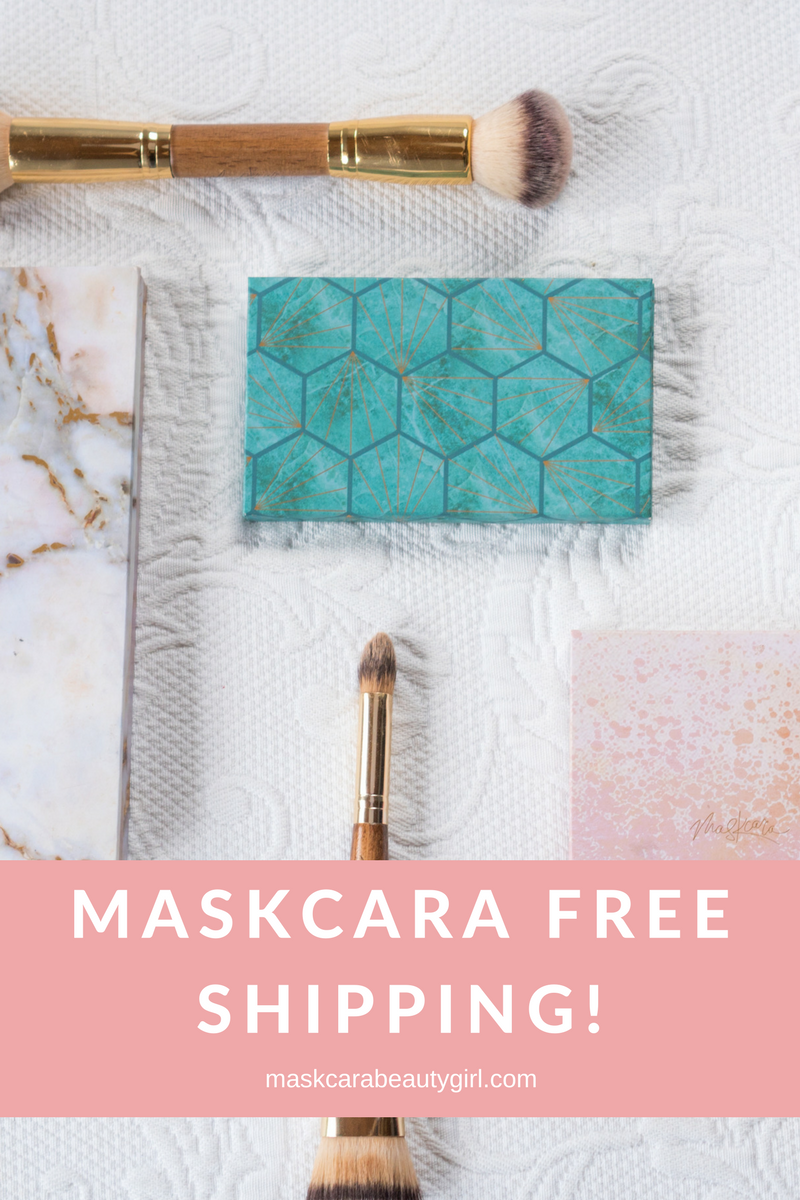 Maskcara Free Shipping with Maskcara Beauty Girl at www.maskcarabeautygirl.com