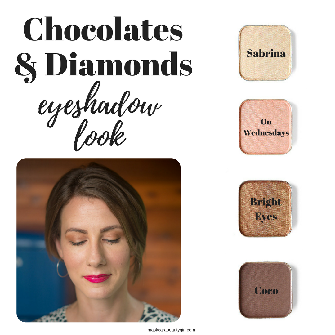 Chocolates and Diamonds Eyeshadow Look with Maskcara Beauty Girl at www.maskcarabeautygirl.com