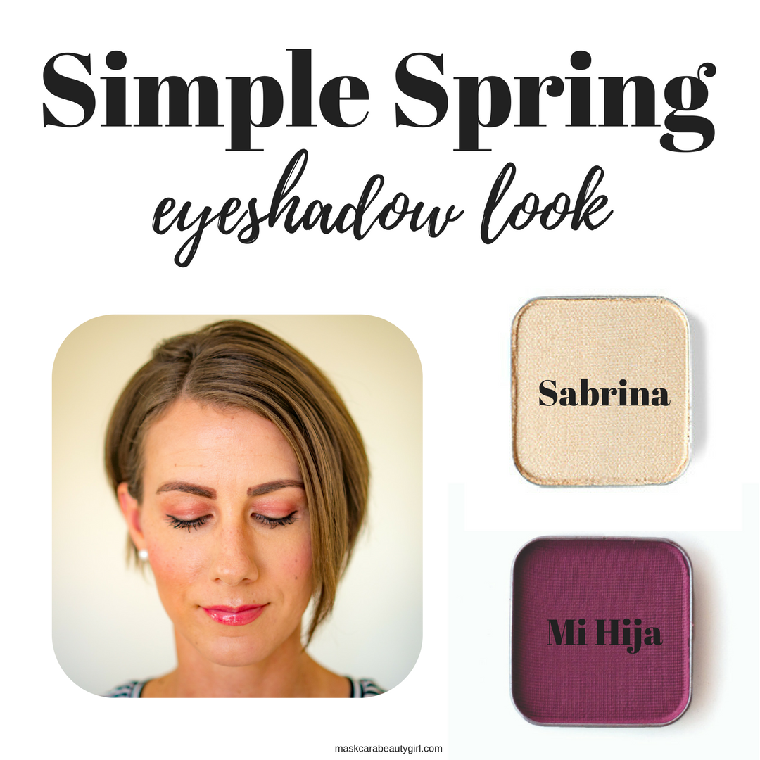 Simple Spring Eyeshadow Look with Maskcara Beauty Girl at www.maskcarabeautygirl.com