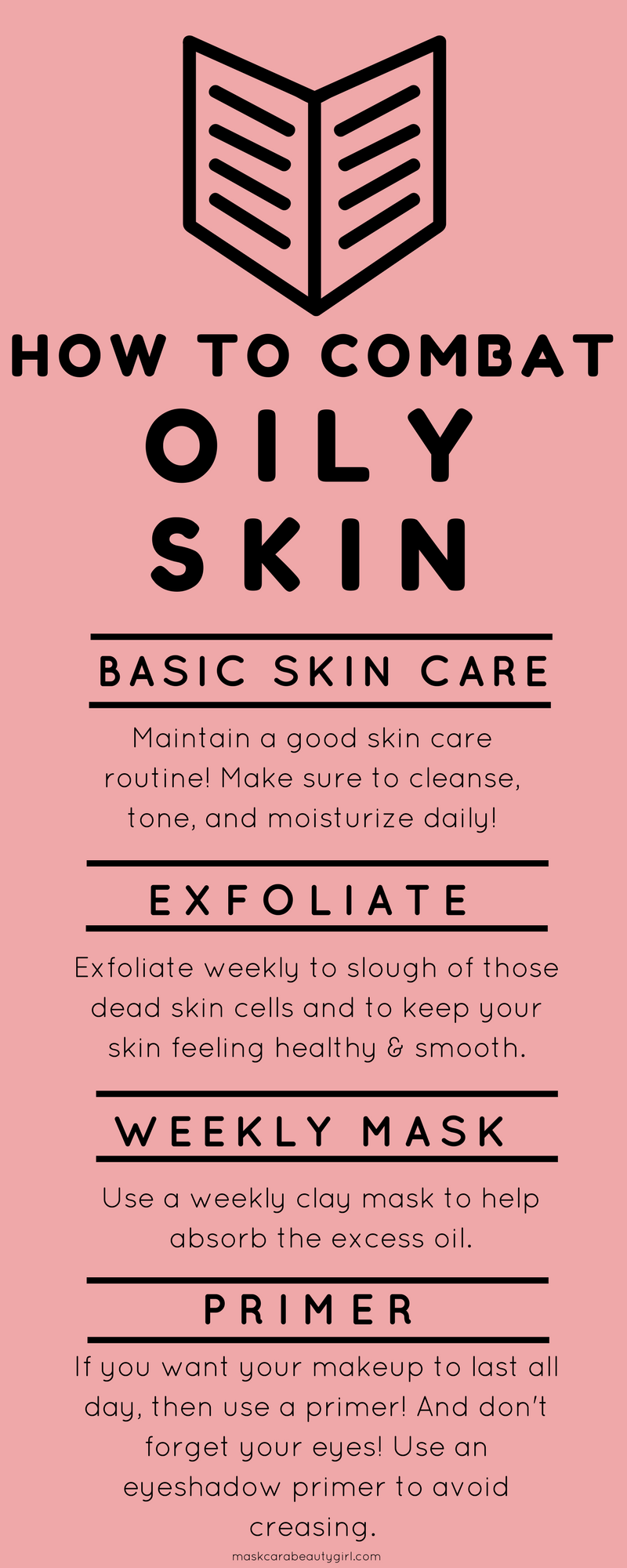 Oily Skin Care Tips with Maskcara Beauty Girl at www.maskcarabeautygirl.com