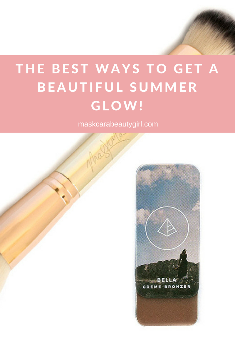 3 Ways to Get a Summer Golden Glow with Maskcara Beauty Girl at www.maskcarabeautygirl.com