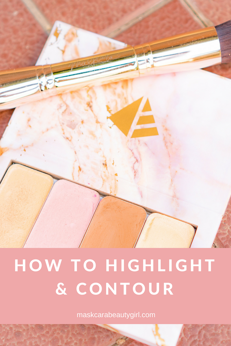 How to Highlight and Contour with Maskcara Beauty Girl at www.maskcarabeautygirl.com