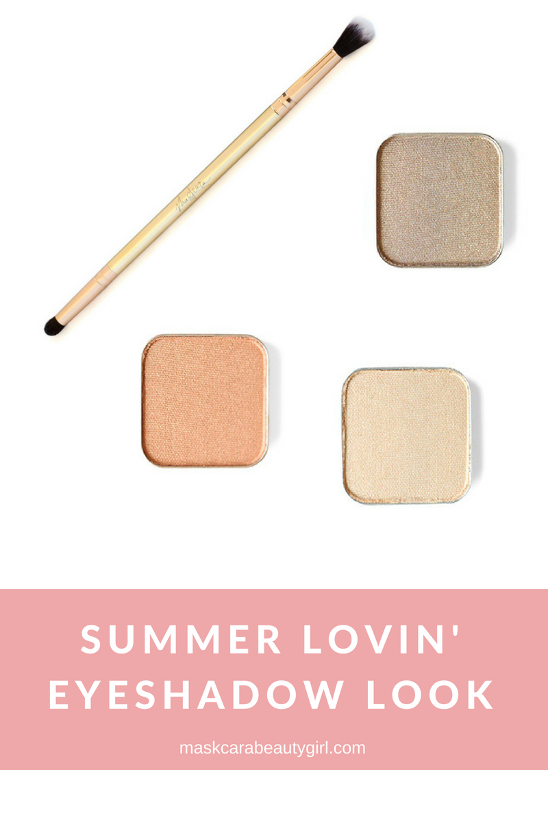 Summer Lovin' Eyeshadow Look