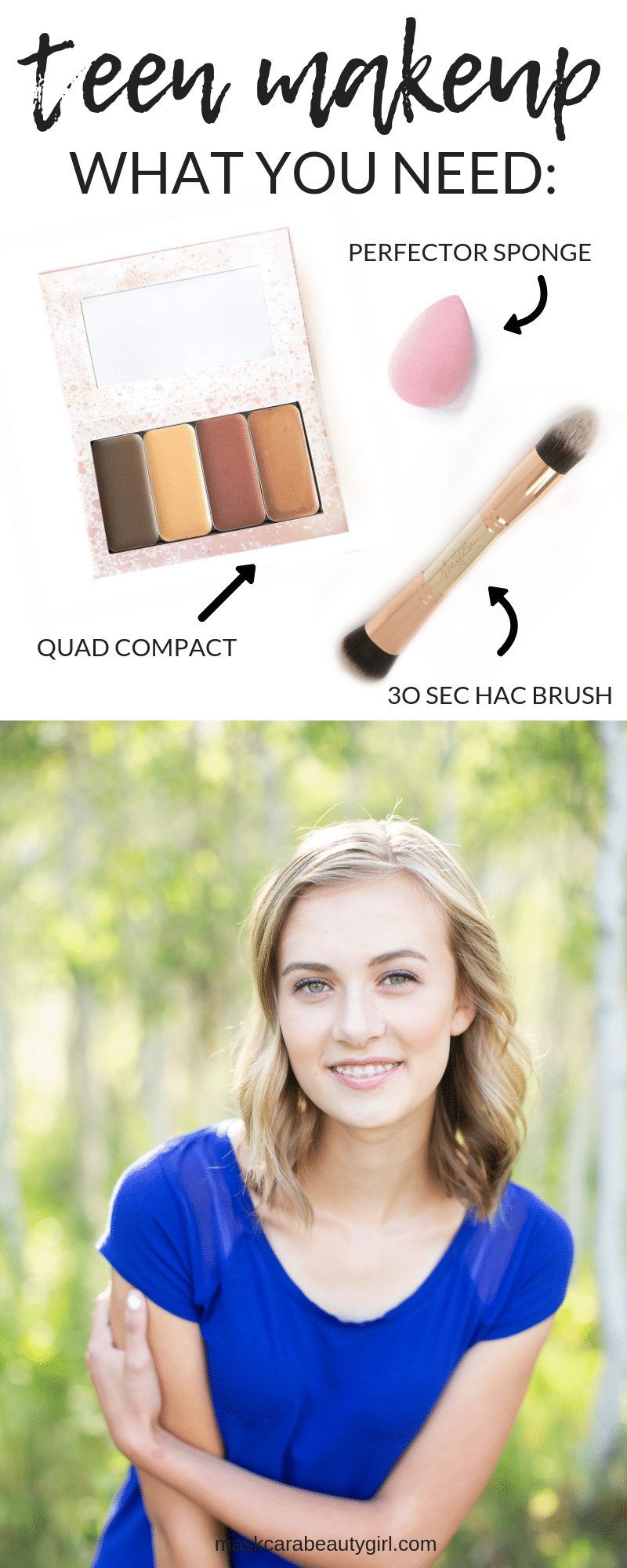The Perfect Makeup for Teens!