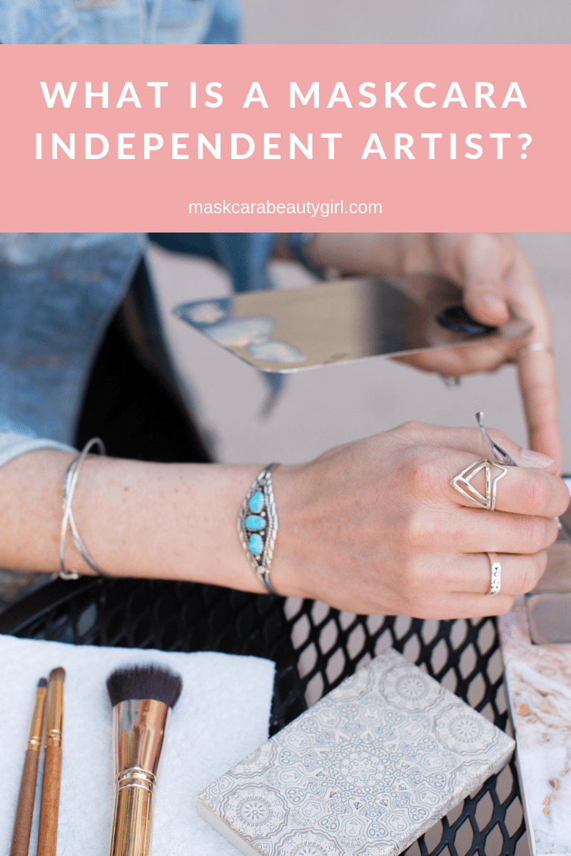 What is a Maskcara Independent Artist?