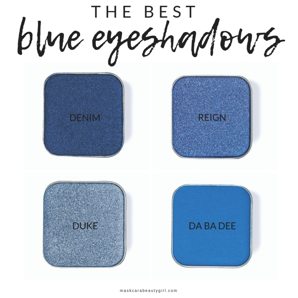 The Best Blue Eyeshadows at maskcarabeautygirl.com