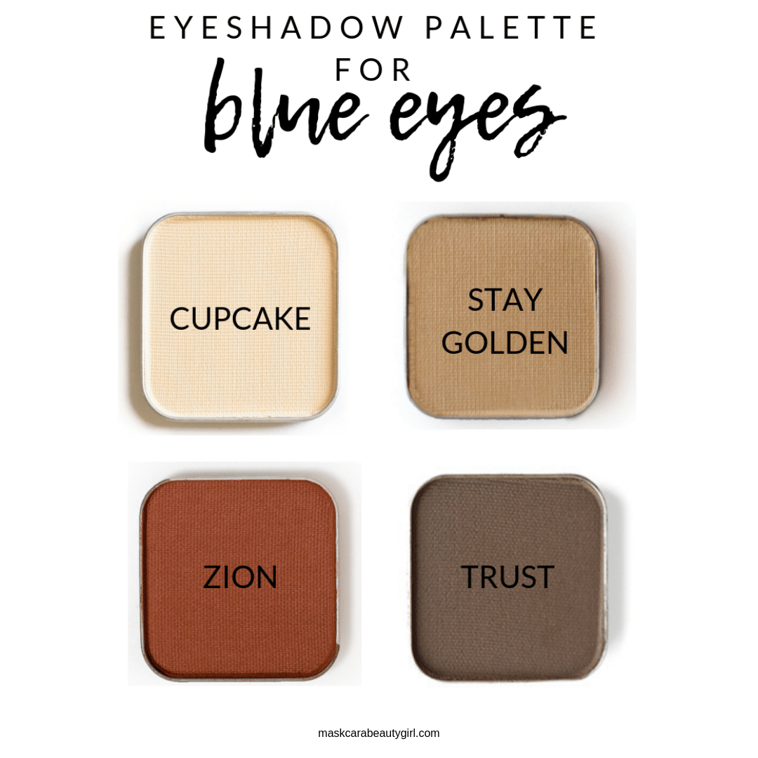 Eyeshadows that will Make Blue Eyes Pop! at maskcarabeautygirl.com