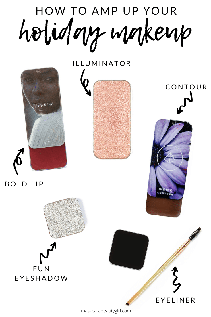 How to Amp Up Your Holiday Makeup Look